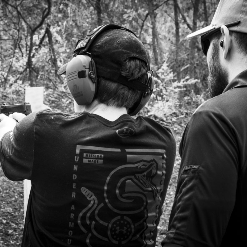 private gun training with triangle self-defense professional instructors