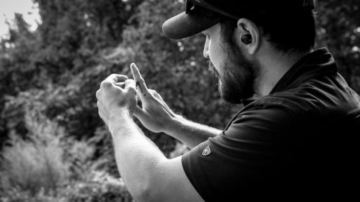 Firearms instructor teaches you how to shoot straight and get better at shooting