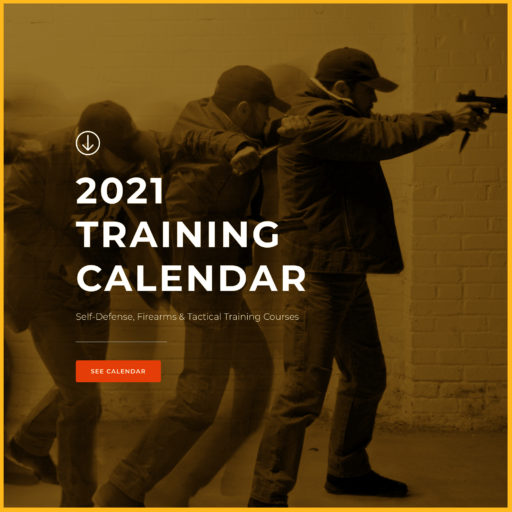 Triangle Self-Defense Training Calendar